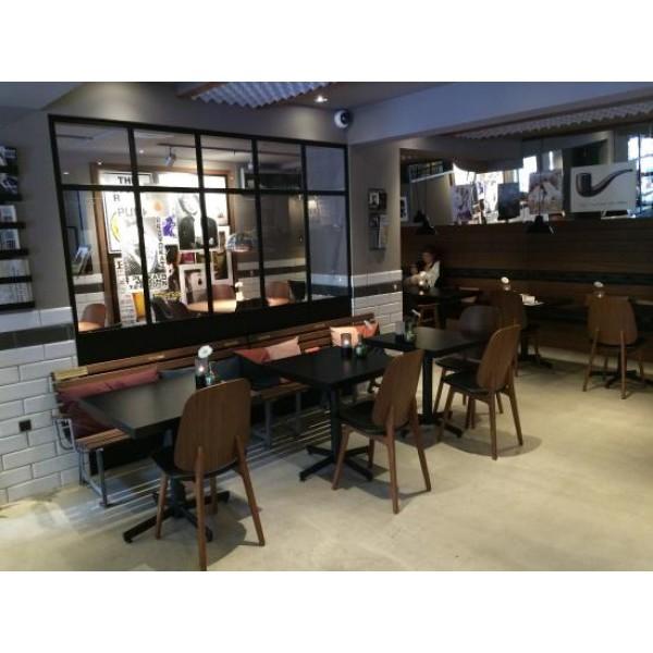 Indretning, café og restaurant